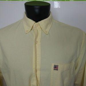 Ralph Lauren Jeans Long Sleeve Button Down Shirt